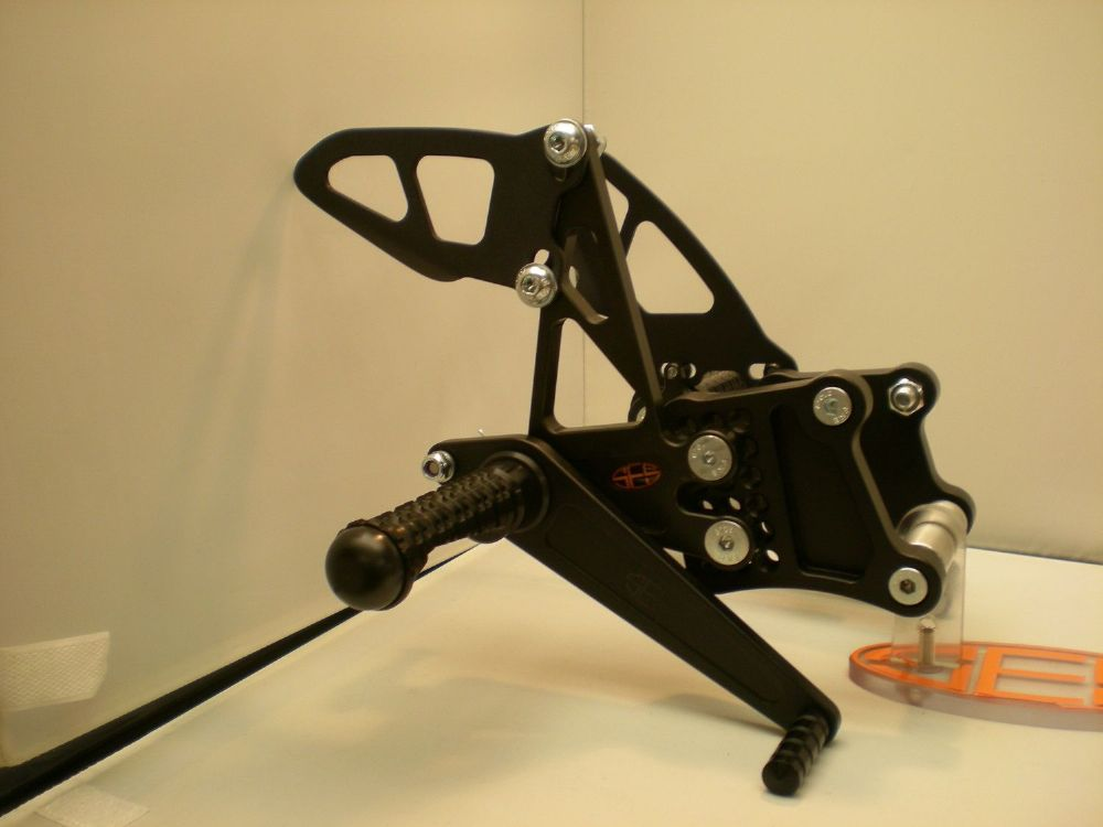 Adjustable Rearsets - Kawasaki 300 Ninja. RSK018.